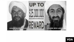 Estados Unidos ofrece una recompensa de $25 millones de dólares por información que lleve a la captura de Ayman al-Zawahri.