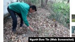 Khu vực được cho là nơi chôn xác thai nhi ở nhà máy xử lý rác thải TP Cà Mau.
