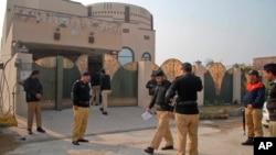 Cảnh sát Pakistan.