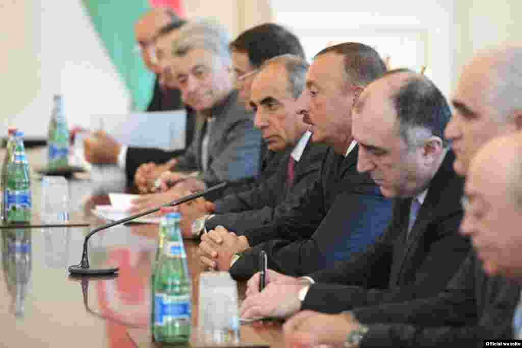 Ռուսաստանի նախագահ Վլադիմիր Պուտինի այցը Ադրբեջան, 2013թ. օգտոստոսի 13