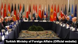 國際敘利亞支持團體在紐約舉行會議。