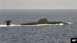 Подводная лодка ВМФ России (архивное фото)