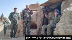 جنرال دوستم از چند روز به این طرف برای نظارت جنگ فاریاب به آن ولایت رفته است