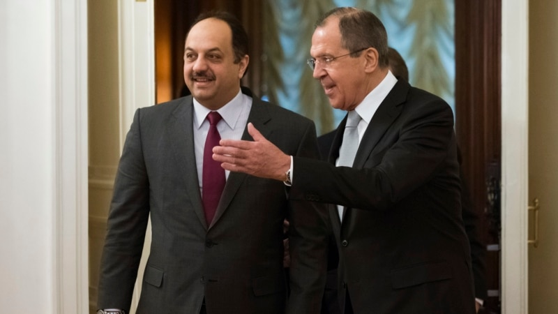Russia, Qatar to Encourage Syrian Opposition to Talk to Government