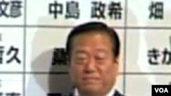 Ichiro Ozawa, berjasa menjadi arsitek kemenangan pemilu bagi Partai Demokrat Jepang.