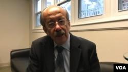 美国乔治梅森大学台湾历史讲师韦杰里接受美国之音采访。(2019年12月9日)