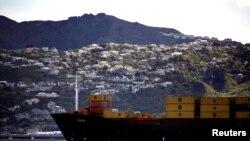 新西蘭惠靈頓民居 (2011年9月7日資料圖片)