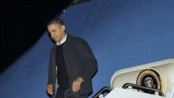 رییس جمهوری آمریکا به واشنگتن باز می گردد