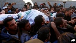 Merasîma binaxkirina fermandarekî Hamasê