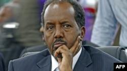소말리아의 하산 세이크 모하무드 신임 대통령(자료사진)