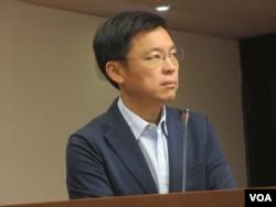 台湾在野党民进党立委赵天麟(美国之音张永泰拍摄)