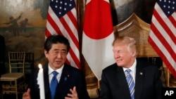 安倍說對兩韓峰會與川普總統見解一致。