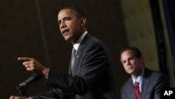 Le président Barack Obama à Providence dans le Rhode Island (AP)