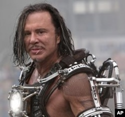 "Mickey Rourke plays Ivan Vanko in ""Iron Man 2."" © 2010 MVLFFLLC. TM & © 2010 Marvel. All Rights Reserved."