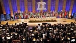 팔레스타인을 정회원국으로 승인한 유네스코 회의