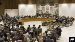 安理会就叙利亚问题进行表决