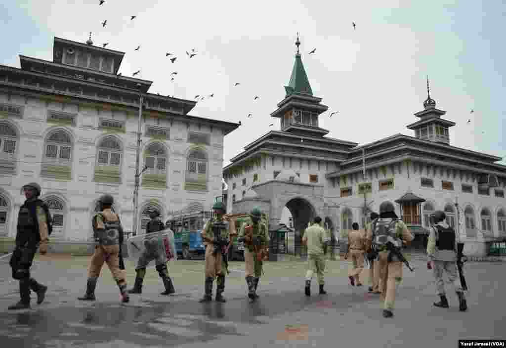 فوج، سنٹرل سکیورٹی فورسز اور پولیس کے دستوں کو تعینات کیا گیا ہے۔