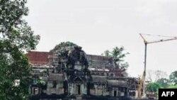 Đền Baphuon có từ thế kỷ thứ 11 tại khu vực Angkor