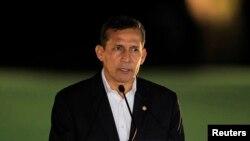Tổng thống Peru Ollanta Humala, đã tăng cường nỗ lực diệt trừ ma túy và trấn áp các phiến quân là những kẻ kiểm soát việc buôn lậu ma túy