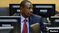 Wapres Kenya, William Ruto menghadapi dakwaan kejahatan terhadap kemanusiaan dalam pengadilan di ICC Den Haag (foto: dok).