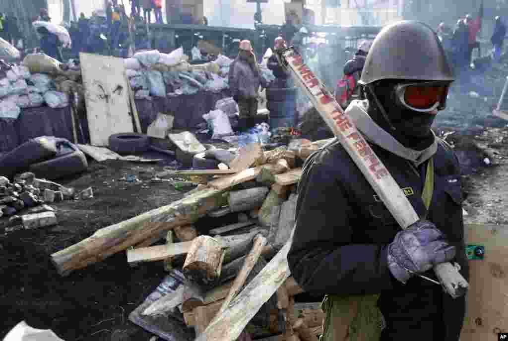 کیف، ۲۶ ژانویه ۲۰۱۴