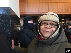 "Cheryl Bellamy-Bonner, 56, of Chicago, carpooled with four female friends and relatives beginning at 3 a.m. Saturday to get a ticket to President Obama's farewell speech at McCormick Place. She has been an Obama supporter since volunteering on Obama's US Senate race and says she wants to hear from Obama on Tuesday what he's going to do next and ""how we can help."""