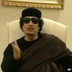 لیبیا کے رہنما معمر قذافی