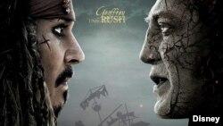 La película Piratas del Caribe encabeza la taquilla del fin de semana en Estados Unidos.
