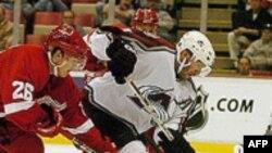 Нападающий «Детройт Рэд Уингс» Иржи Хадлер переходит в московское «Динамо»