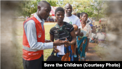 Save the Children and partner organizations are trying to help 450,000 people in the country.