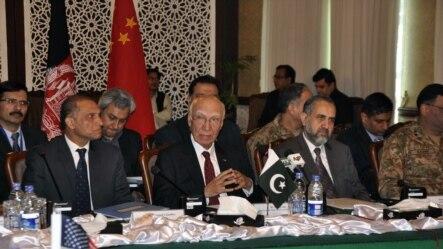 در نشست چهارجانبه در پاکستان، روی نقشه راه که مراحل و گامهای بعدی روند گفتگوهای صلح را مشخص میسازد،توافق صورت گرفت
