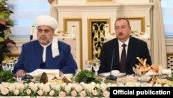 Allahşükür Paşazadə və İlham Əliyev