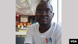 Coque Mukuta, contributing reporter for VOA's Portuguese to Africa Service
