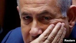 Umushikiranganji wa mbere wa Isirayeri Benjamin Netanyahu