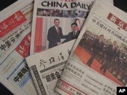 中国媒体报导奥巴马访华