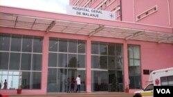 Hospital Geral de Malanje, Angola