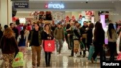 Penjualan ritel AS meningkat besar pada bulan November dipicu oleh 'Black Friday' pada musim liburan Thanksgiving lalu (foto: ilustrasi).