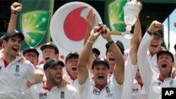 ایشز سیریز میں انگلینڈ کی فتح