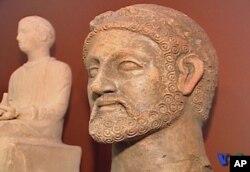 Από την έκθεση Κυπριακών αρχαιοτήτων στην Ουάσιγκτον