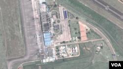 乌干达安特贝国际机场卫星图