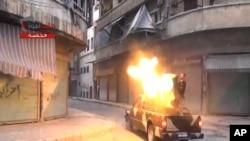 叙利亚反政府在首都大马士革附近遭受严重损失