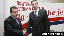 Rukovodstva Srpske napredne stranke (SNS) i Socijalističke partije Srbije (SPS) su danas u sedištu SNS-a počeli razgovor o formiranju vlade