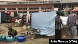 Desalojados em Benguela, Angola