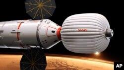 Концепт проекта «Инспирэйшн Марс»