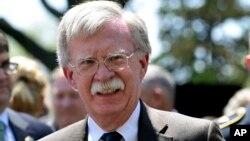 Cоветник президента по национальной безопасности Джон Болтон (архивное фото)