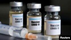Konsorsium Penelitian dan Inovasi Covid-19 Kementerian Riset dan Teknologi RI memperkirakan perlu setidaknya Rp26,4 triliun untuk memproduksi vaksin Covid-19. (Foto: ilustrasi).