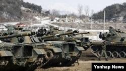 지난해 2013년 키리졸브 일환으로 강원 철원군 육군 3사단에서 실시된 전투력 복원훈련. (자료사진)