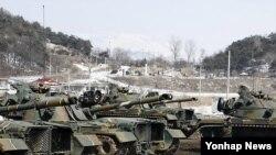 지난해 3월 실시된 키리졸브 일환으로 강원 철원군 육군 3사단에서 실시된 전투력 복원훈련(자료사진)