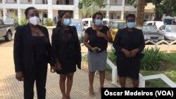 Mulheres são-tomenses protestam contra violência e abuso sexeual de menores