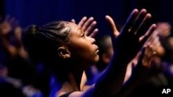 Ilustrasi. Seorang penari di Clayton County Performing Arts Center di Jonesboro. (Foto: AP)